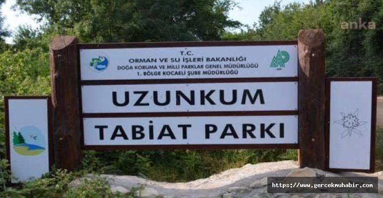 Bir Doğa Parkı Daha Yok Edildi