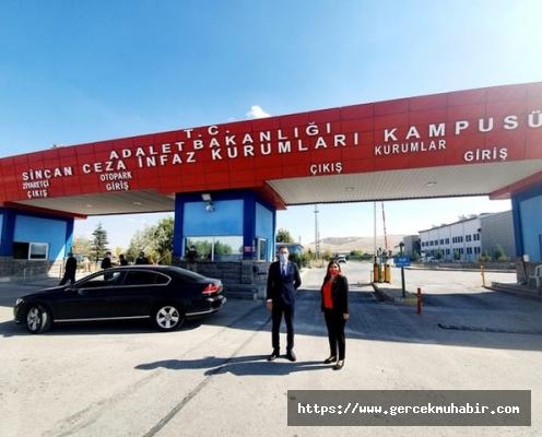 CHP'nin Cezaevleri Alt Komisyonu Üyeleri, Ayhan Bilgen'i Cezaevinde Ziyaret Etti
