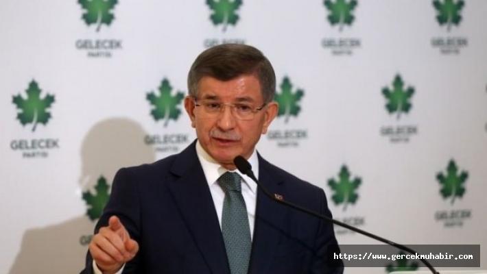 """Davutoğlu: """"Milletimizin başındaki en büyük musibet aile şirketine dönmüş bu iktidardır"""""""