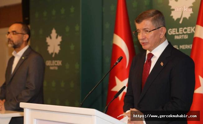 Davutoğlu'ndan Erdoğan'a erken seçim yanıtı: Kendi sözlerini unutmuş gibi