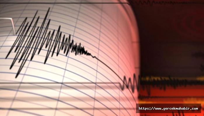 Ege Denizi'nde 5 büyüklüğünde deprem