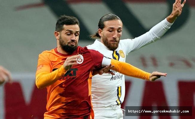 Galatasaray tek golle 3 puanı aldı
