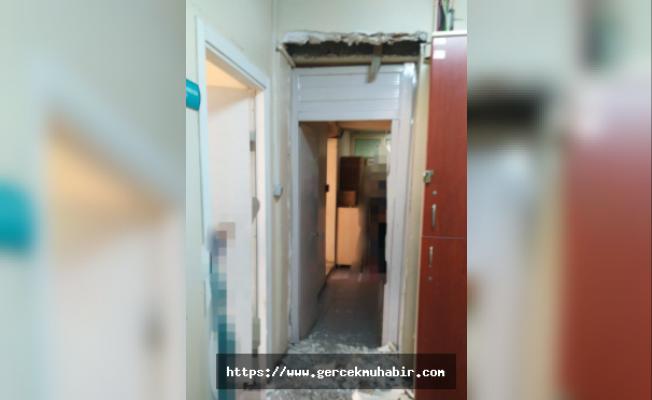 Genel Sağlık İş: İzmir'de hasarlı hastanede hizmete devam ediliyor