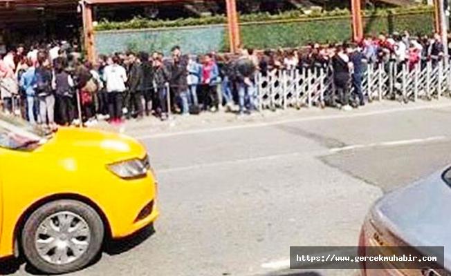 Hürriyet yazarı Ün: Nusret'in dükkânları önündeki kuyruktakiler figüranmış