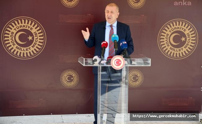 İYİ Parti İstanbul Milletvekili Ümit Özdağ, Disiplin Kurulu'na sevk edildi.