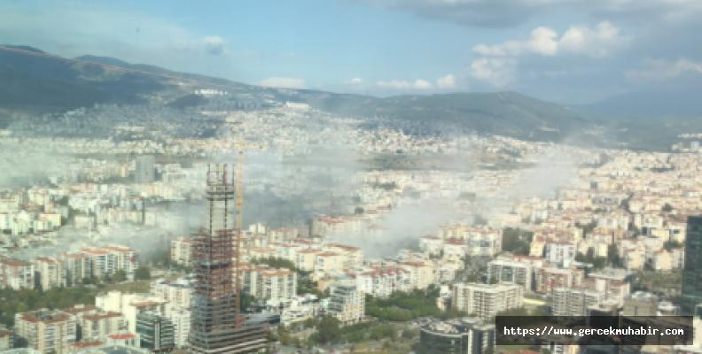 İzmir'de toplanma alanları