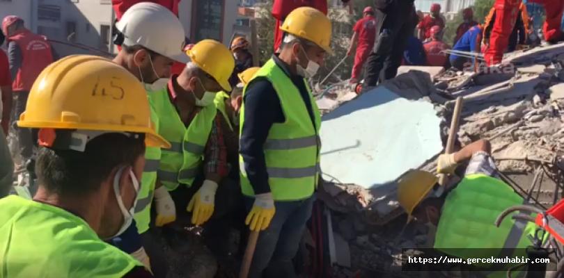 İzmir'deki depremde can kaybı 26'ya yükseldi