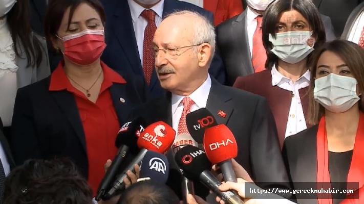 Kılıçdaroğlu Birinci Meclis'te: Milletten Korkmamak Lazım