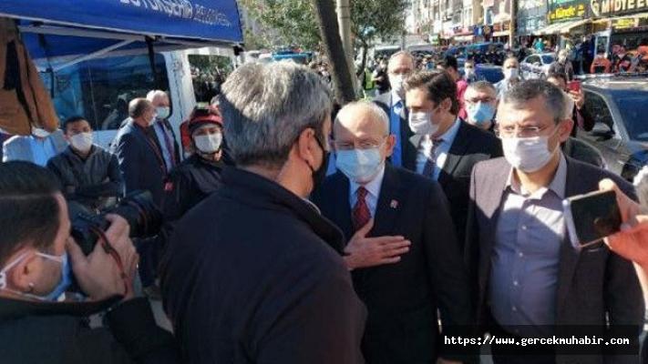Kılıçdaroğlu, depremde yaralananları ziyaret etti