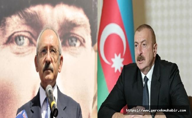 Kılıçdaroğlu'ndan Azerbaycan Cumhurbaşkanı Aliyev'e destek mektubu