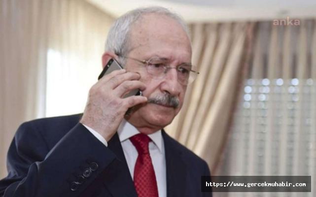 Kılıçdaroğlu'ndan Berna Yılmaz'a Başsağlığı Telefonu
