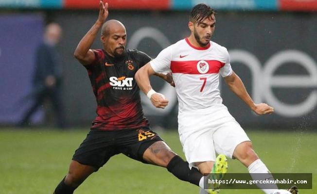 Marcao, Ümit Milli Takım futbolcusunu tokatladı; Tolunay Kafkas takımı sahadan çekti!