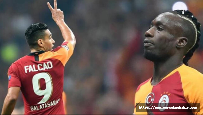 Mbaye Diagne, Radamel Falcao ile Barcelona'ya karşı