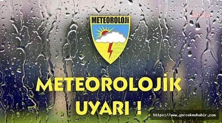 Meteoroloji'den 7 il için uyarı