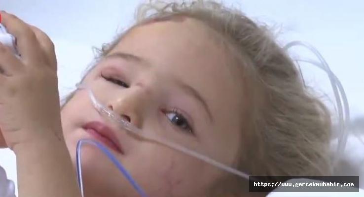 65 saat sonra enkazdan çıkarılmıştı! 3 yaşındaki Elif Perinçek bebeğin hastaneden ilk görüntüleri geldi