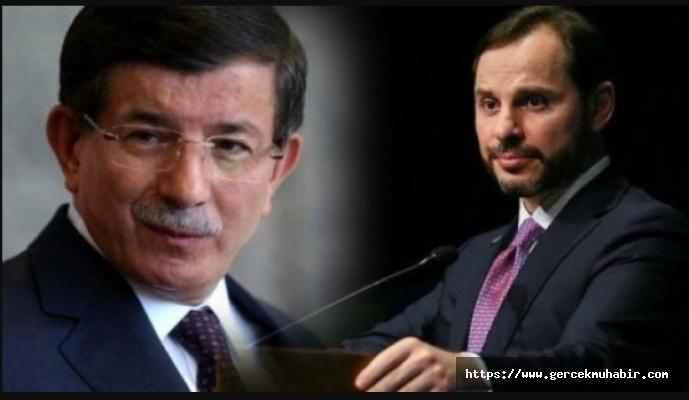 """Ahmet Davutoğlu: Berat Albayrak """"Sonumuz hayrolsun"""" diyerek bir felaket bıraktığını dile getiriyor"""