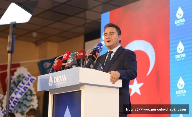 Babacan: ''1950'de demokrasiye bir kez adım attık, yine atarız''