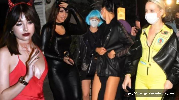 Cadılar Bayramı partisine polis baskını!
