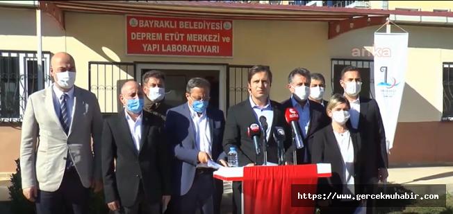 CHP Heyeti Deprem Bölgesinde Açıklamalarda Bulundu
