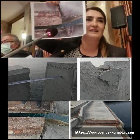 """CHP İzmir Milletvekili Av. Kılıç: """"Çandarlı Limanı için harcanan 680 milyon TL çöpe mi gitti?"""""""
