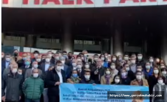 ''CHP'ye ve onun liderine uzanacak her eli kırmaya bu partinin üyeleri yeterli ve muktedirdir''