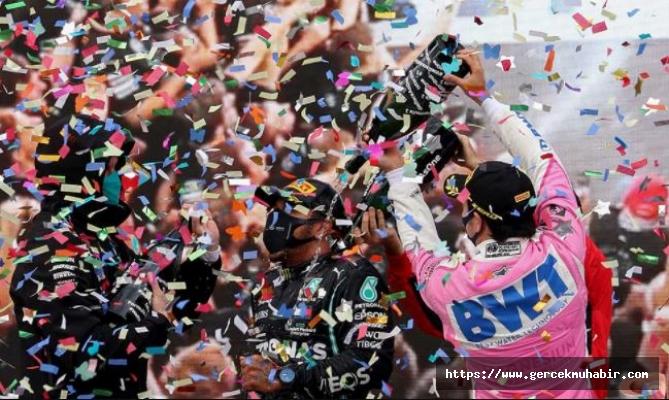 """Cumhurbaşkanı Danışmanından F1'de """"Şampanya Yerine Gazoz"""" Patlatılmasına İlişkin Açıklama"""