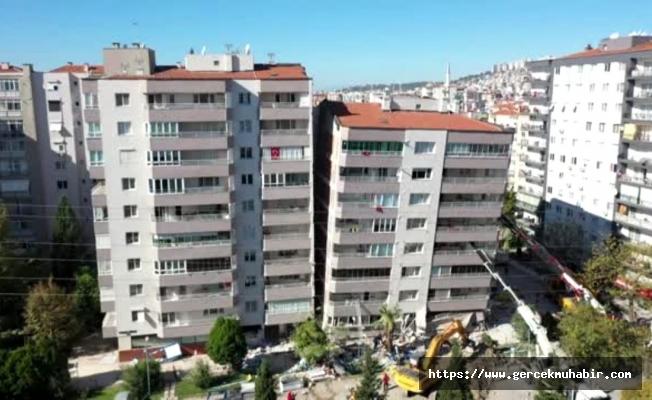 Depremde çöken Yılmaz Erbek Apartmanı ile ilgili çarpıcı detay!