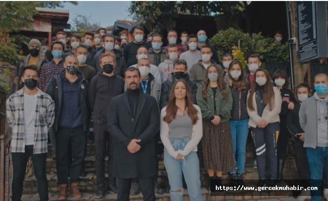 Doğduğun Ev Kaderindir dizisi oyuncularından İzmir mesajı