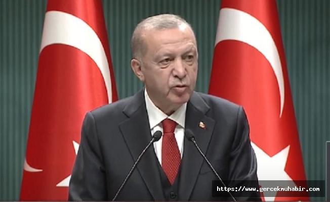 Erdoğan, koronavirüs pandemisi ile ilgili alınan yeni kararları açıkladı