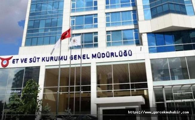Et ve Süt Kurumu'nun genel müdürlük binasının yıllık kira bedeli 3.5 milyon liradan fazla