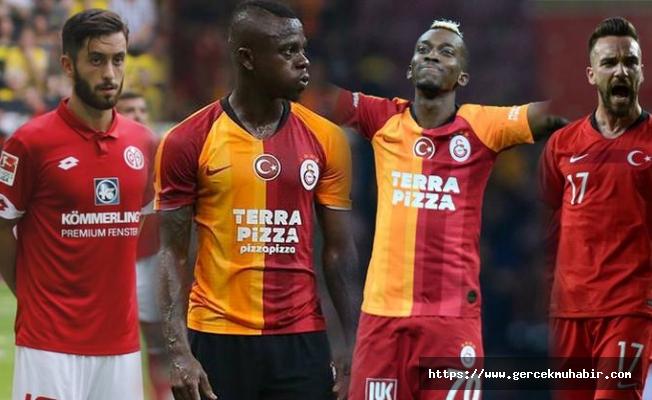 Galatasaray'dan transfer atağı: 4 transfer birden