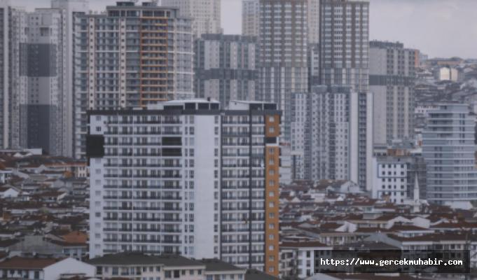 İstanbul'da Konut Fiyatları Yükseldi, Sıfır Konut Satışı Yüzde 28 Geriledi