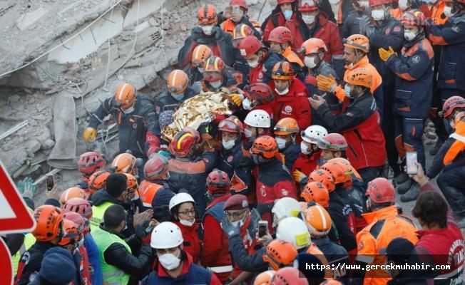 İzmir'deki Depremde Hayatını Kaybedenlerin Sayısı 105'e Yükseldi