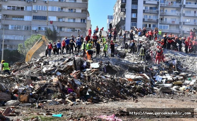 İzmir depreminde ölü sayısı 58'e çıktı