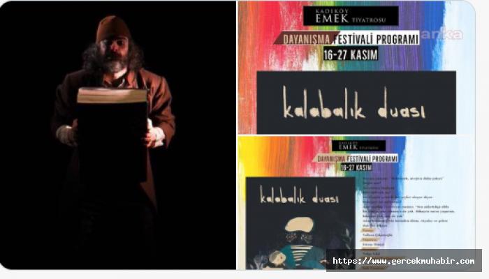 Kadıköy Emek Tiyatrosu Dayanışma Festivali ile ayakta kalmaya çalışıyor
