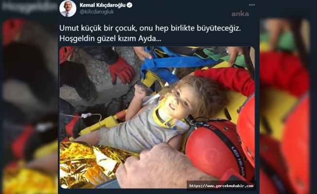 Kılıçdaroğlu'ndan Ayda mesajı: Onu hep birlikte büyüteceğiz