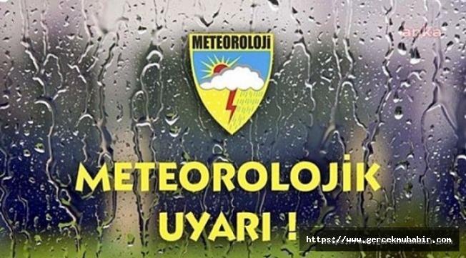 Meteoroloji sağanak yağmur ve şiddetli rüzgâra karşı uyardı