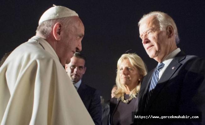 Papa Francis'den Joe Biden'a tebrik