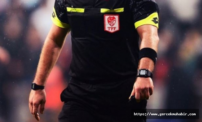 Süper Lig'de 8.Hafta maçlarının hakemleri belli oldu