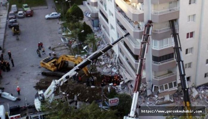 Tunç Soyer: Depremde yıkılan binada zemin kata market yapmak için kolon kesilmiş