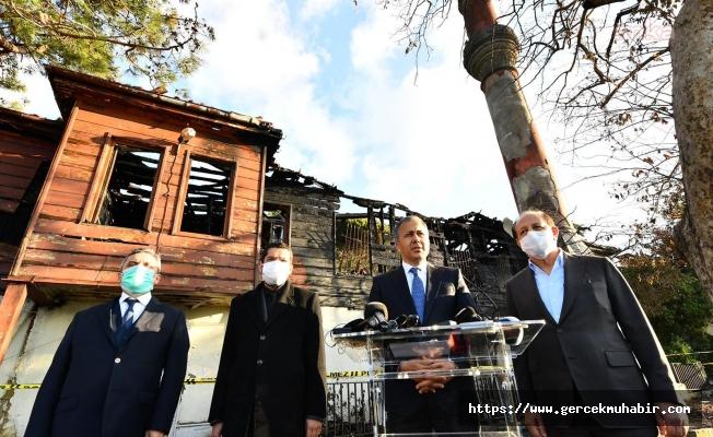 Vali Yerlikaya: Vaniköy Camisi'ni yeniden ihya edeceğiz