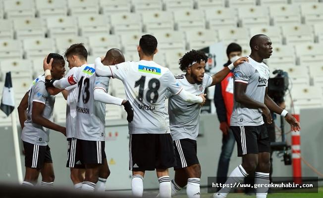 Beşiktaş sahasında farklı kazandı