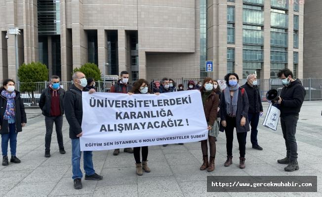 """Eğitim Sen, üniversiteler için """"Fuhuş yuvası"""" diyen Sofuoğlu hakkında suç duyurusunda bulundu"""