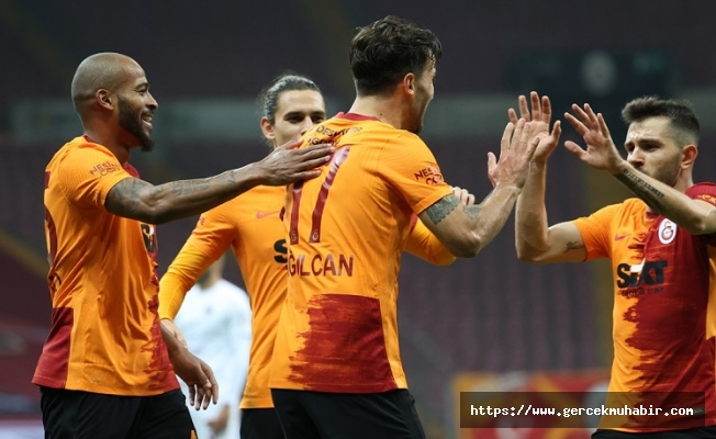 Galatasaray'dan 3 gollü galibiyet