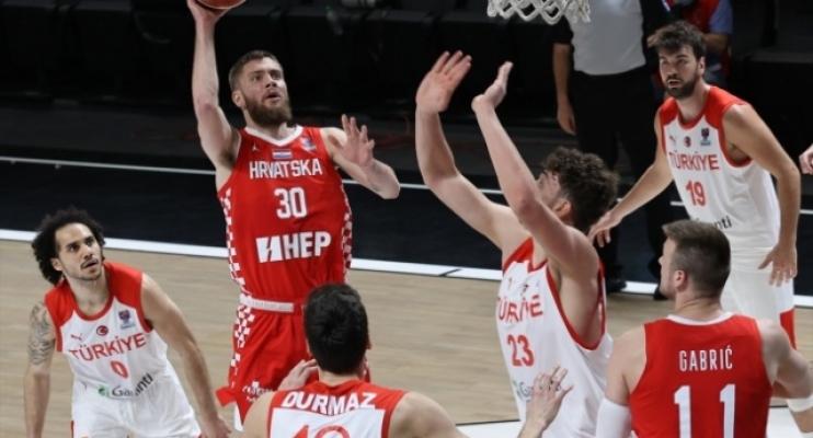 A Milli Erkek Basketbol Takımı galibiyetle bitirdi