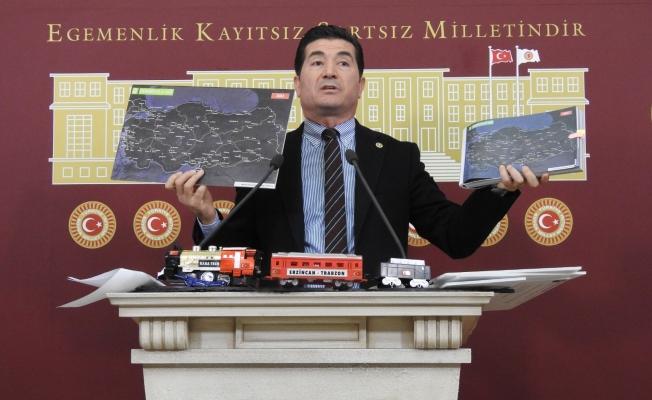 """""""AKP Döneminde Trabzon'da Demiryolu Hayal"""""""