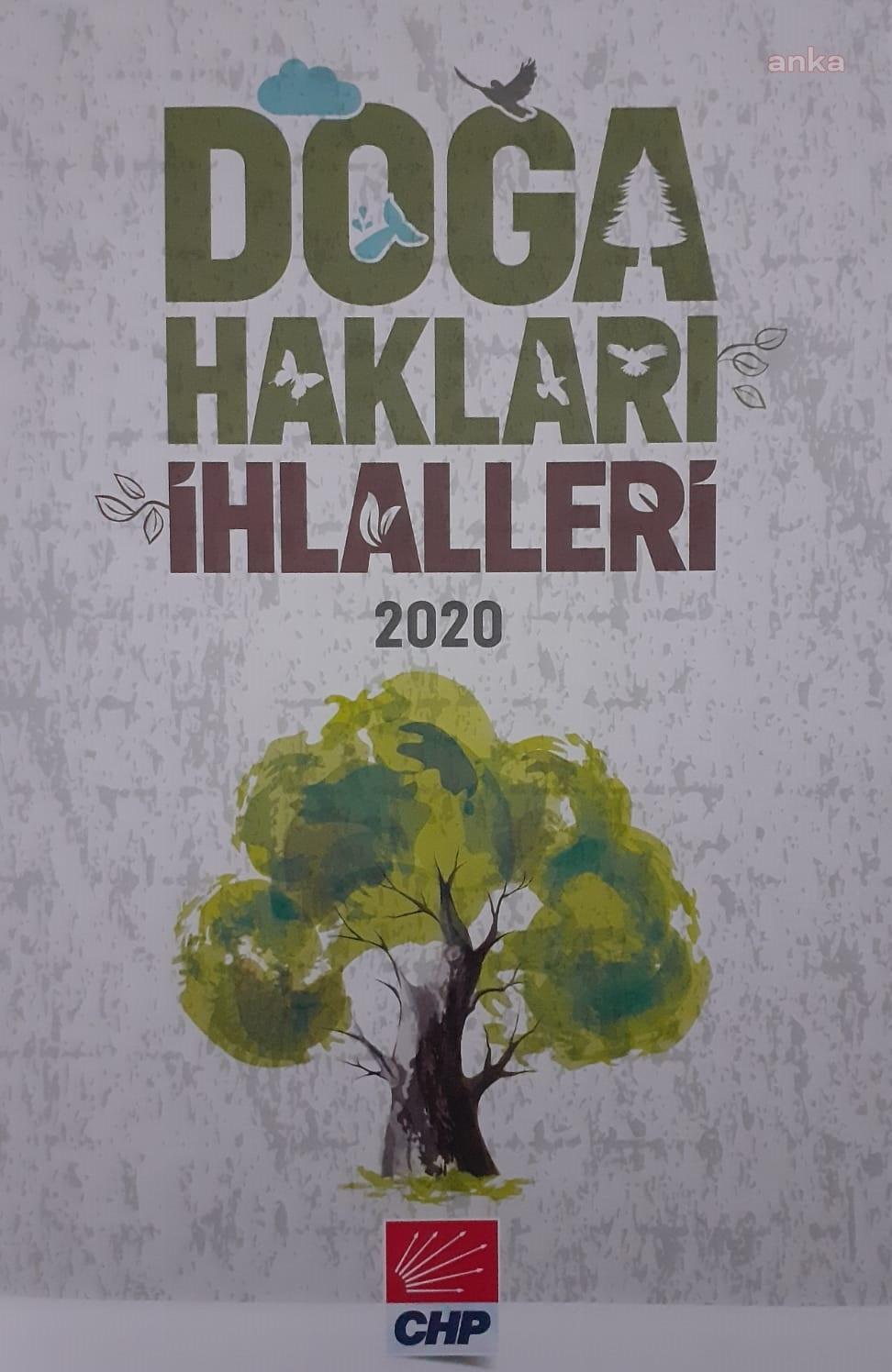 CHP, 2020 Yılında Yaşanan Doğa Hakları İhlallerini Detaylı Bir Kitap Haline Getirdi