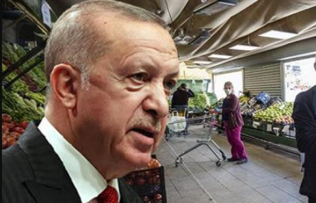 """Erdoğan'dan gıda fiyatlarındaki artışa karşı  """"kooperatif market"""" formülü"""