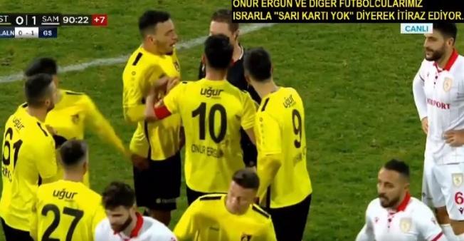 """İstanbulspor'dan TFF'ye """"Kural hatası"""" başvurusu"""