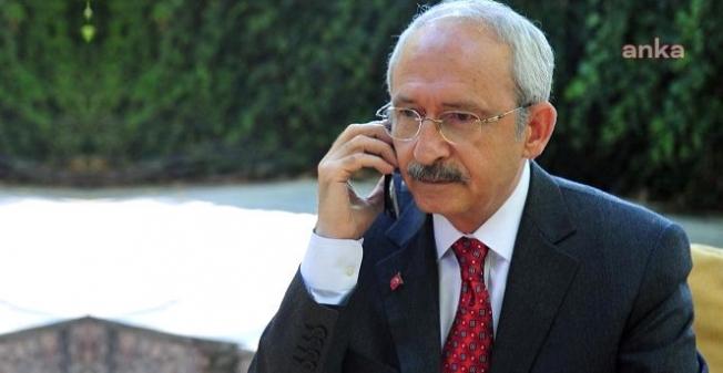 Kılıçdaroğlu'ndan, Gara'da şehit olan polis ve askerlerin ailelerine başsağlığı telefonu